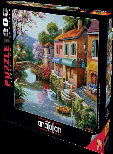 Anatolian  1000 Parça Hediyelik Eşya Dükkanı 1053 Renkli